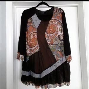 Unique boutique blouse